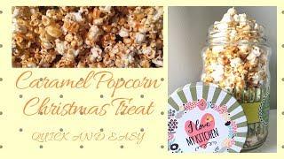 Caramel Popcorn Recipe (quick and easy)