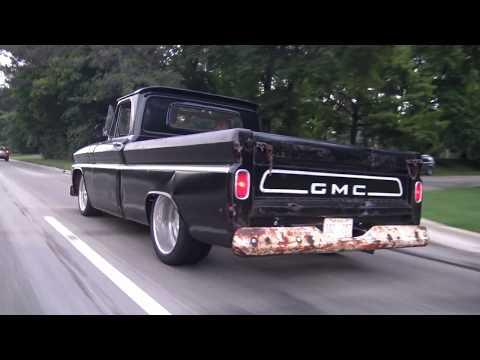 1965 GMC Sleeper Classic Pickup Truck Georgia Visitor Woodward Ave Detroit Samspace81 Texan Filmed