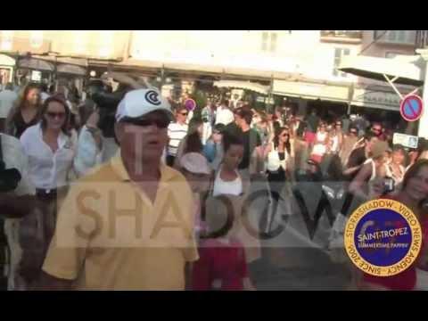 ST TROPEZ 2007 : Jack Nicholson chilling in Saint Tropez