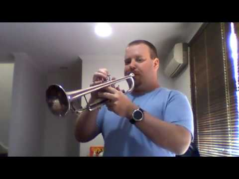Trumpet warm up - Some ideas for starting the day - Mark Fitzpatrick