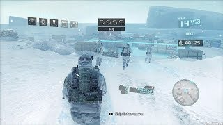 Amazing Winter Stealth Mission from Cool FPS Game Tom Clancy