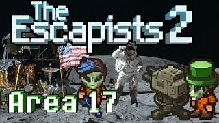 Скачать The Escapists 2 4 Player Area 17 2 Faking The Moon Landing