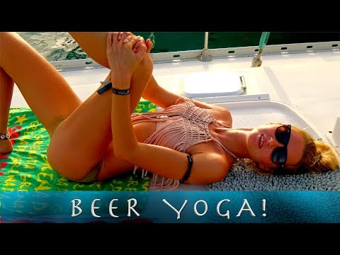 SSL 190 ~ new activity... BEER YOGA!