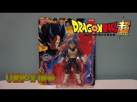 Figura DRAGON BALL SUPER - EVOLVE #2   VEGETA SUPER SAIYAN BLUE   UNBOXING de COMPRAS DRAGON BALL