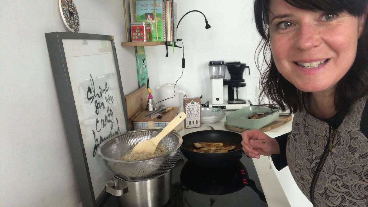 curry met aubergine, as seen on tv :)