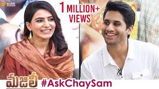 #AskChaySam | Naga Chaitanya & Samantha Love Tips to Fans | MAJILI Telugu Movie | SHINE screens
