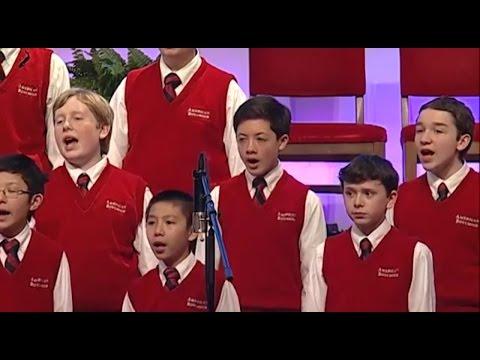 Rhys and American Boychoir sing Adiemus