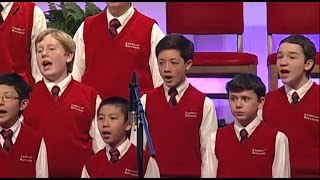 Rhys Williams, 12, sings with American Boychoir singing Welsh compo...