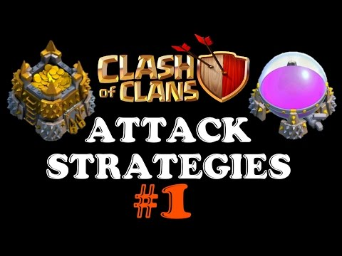 BEST Leagues / Trophy Range for Farming GOLD and ELIXIR!▐ Clash of Clans Attack Strategies [1]