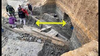 """عثر عمال المناجم على قطعة """" أثرية مذهلة """" أثناء عملهم"""