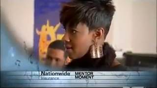 """Le'Andria Johnson on sunday best singing """"Maybe God Is trying To Tell You Something"""""""