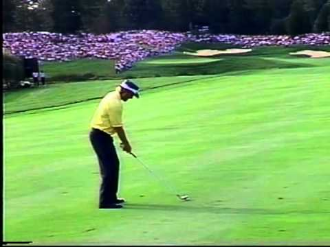 Greg Norman great shot Presidents cup 1996