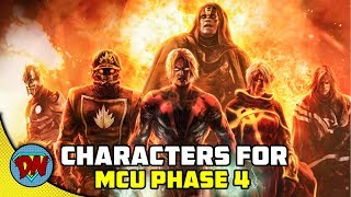 8 Characters Every Fan Wants to See in Marvel Phase 4 | Explained in Hindi