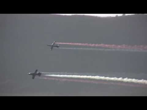 Red Bull Synchro Team @ Wings India Airshow 2013