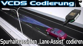 VCDS Codierung LANE ASSIST FREISCHALTEN | VW Audi Seat Skoda