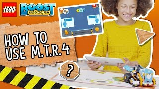 The M.T.R.4 - LEGO BOOST - How To Video