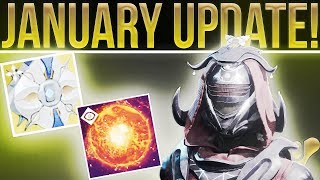 Destiny 2. January Update, Fan Gives Insight To Bungie Morale, Eververse Fixes, The Dawning & More!