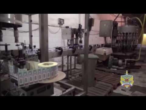 Подмосковными полицейскими ликвидирован цех по производству контрафактной алкогольной продукции