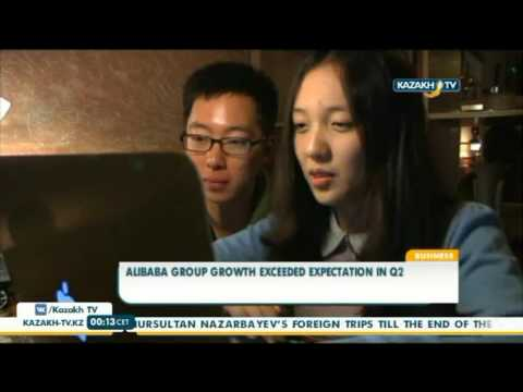 Alibaba group growth exceeded expectation in Q2 - Kazakh TV