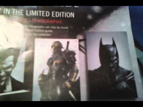 Arkham Origins Limited Edition Strategy Guide