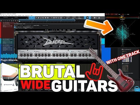 BRUTAL Double-Tracked Guitar Tone w/ONE Track (Studio One & Plugin Alliance)
