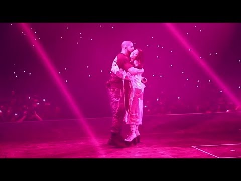 Drake And Nicki Minaj Get Intimate On Stage After Performing Truffle Butter
