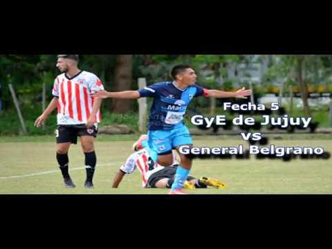 Liga Jujeña | Fecha 5 | Gimnasia 4-0 General Belgrano | 2018