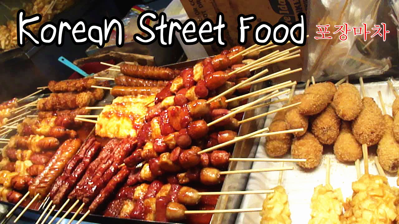Korean Street Food Images