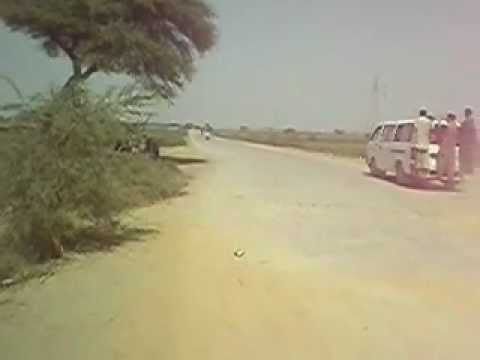 Corruption in Roads Thatta Condition of Sujawal Mirpur Bathoro Road.