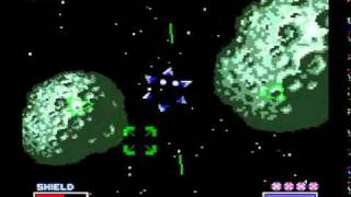 Star Fox Walkthrough Route 3 Stage 2: Asteroid Belt II