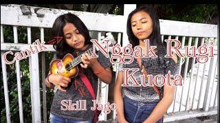 Cover Lagu Ditinggal Rabi Versi Pengamen Cilik Cantik | Sukses Bikin Viral Medsos