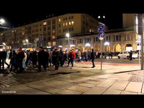 Dresden zeigt wie´s geht! Pegida-Spaziergang am 10.November.2014
