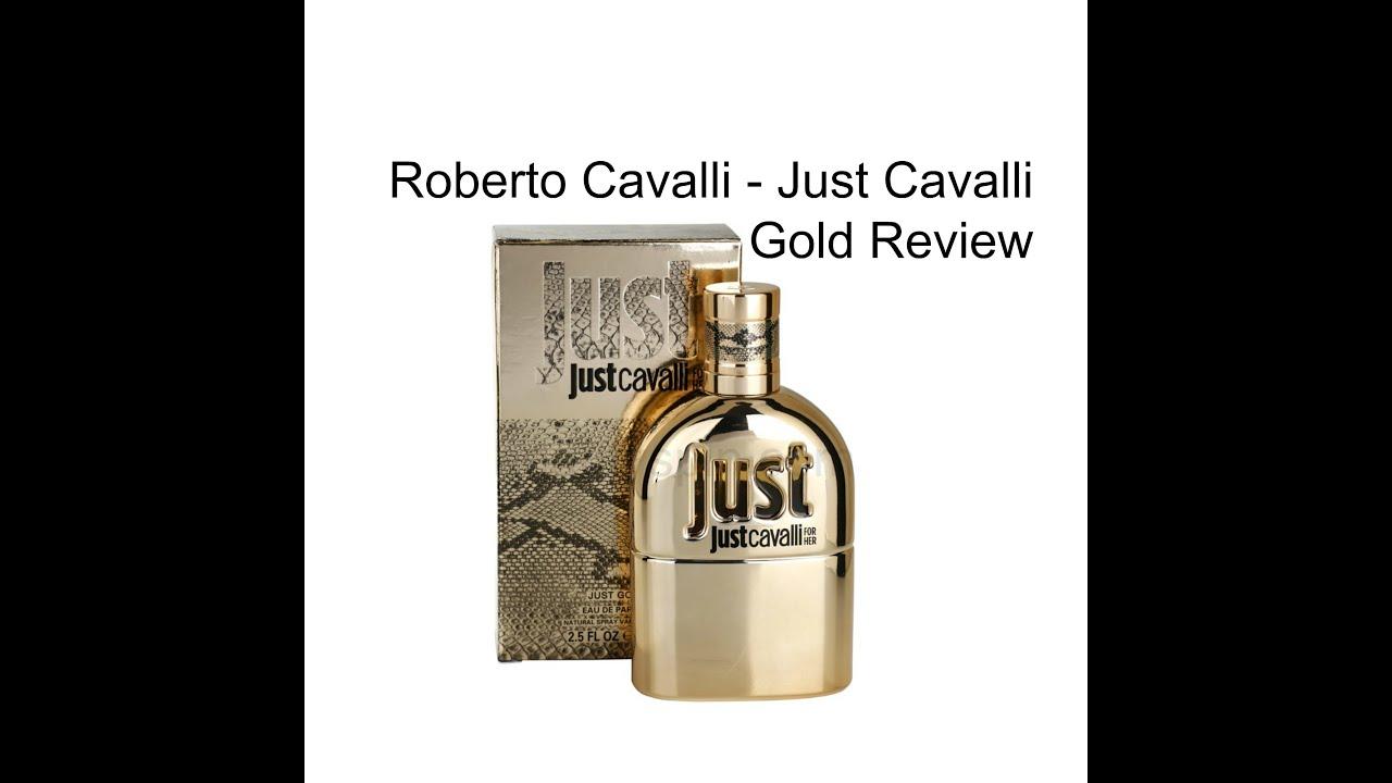 Roberto Cavalli Just Cavalli Gold For Women Edp Fragrance Review