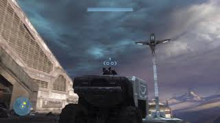 Halo 3 1v1 multiplayer split screen on the pit xenia dx12