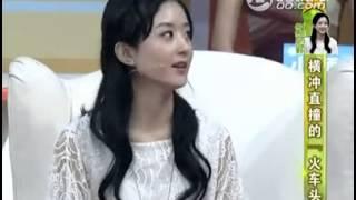 赵丽颖上节目谈日本料理:没中餐那么油腻那么脏