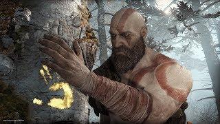 God of War Gameplay (4K) PS4 Pro Highlights