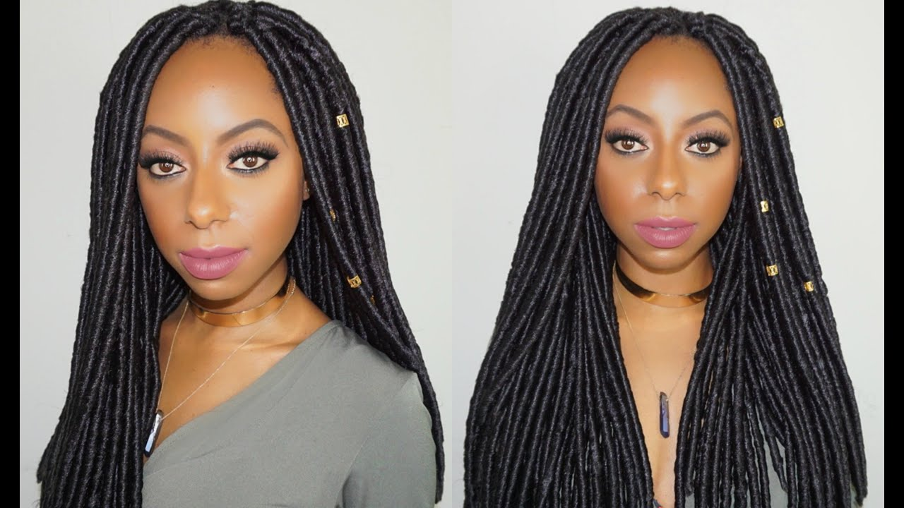 How to: Faux loc crochet braids in 2 hours! Jessica Pettway ...
