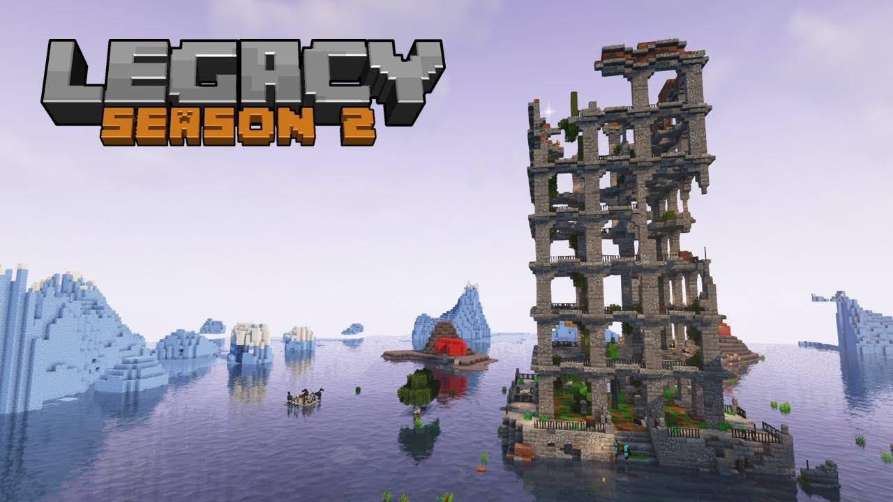 Legacy SMP Season 2: Episode 07 - The base goes up!