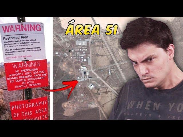 A verdade da Área 51! Mistérios da humanidade...