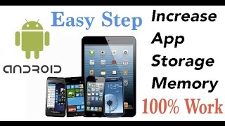 How increase internal App memory of your Android Mobile