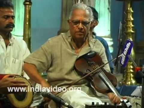 Violin Maestro T. N. Krishnan