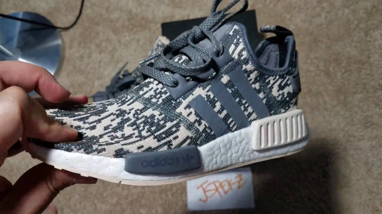competitive price d6035 5a565 Unisex Adidas NMD R1 Glitch Sneaker Review In Full Hd By  Jspekz