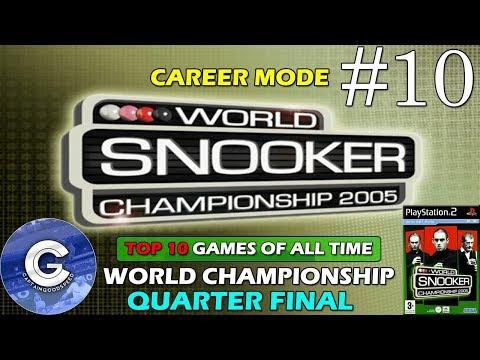 Let's Play World Snooker Championship 2005 | Career Mode #10 | World Championship | Quarter Final