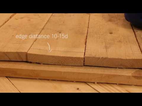 Edge distances specified in Eurocode EC5 thumbnail
