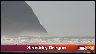Getting an Aerial View of Seaside, Oregon