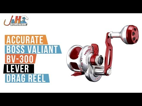 Accurate Boss Valiant BV-300 Lever Drag Reel | J&H Tackle