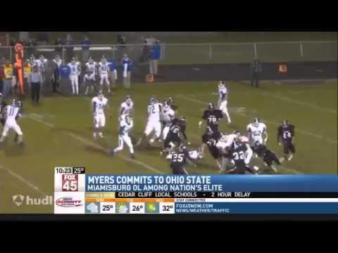Miamisburg Sophomore Josh Myers Commits to Ohio%