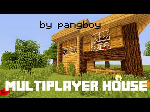 MineCraft : Multiplayer House Tutorial - สอนสร้างบ้านสำหรับ 2 คน