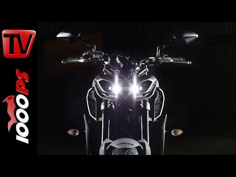 Yamaha MT-09 2017 - Alle Neuerungen im Überblick