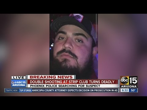Double shooting at Phoenix strip club - YouTube